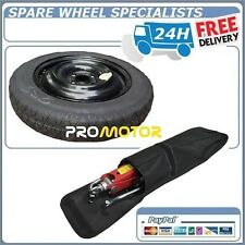 "SPACE SAVER SPARE WHEEL 16"" FITS VAUXHALL CORSA E (4 BOLTS) 2015-2016 TOOL KIT"