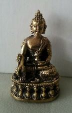 Medicine Buddha Brass Statue Buddhist All Metal Top Quality Miniature #ZS19