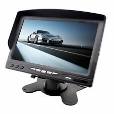 Portable 7 LCD Digital Color Screen Monitor for Car Rear View with Sunvisor OE