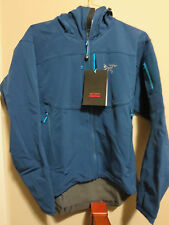 Mens New Arcteryx Gamma MX Jacket Hoody Size Medium Color Poseidon Authentic