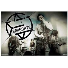 "EMIGRATE POSTER ""MY WORLD"""