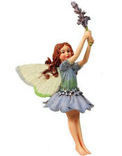 LAVENDER FAERY Flower Fairy Ornament Cicely Mary Barker garden faerie figurine