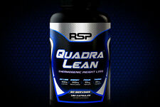 RSP Nutrition QuadraLean Thermogenic 180 caps Weightloss Brand New Sealed