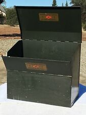 Zellerbach Paper Company Announcement Samples Metal Container 1870-1928
