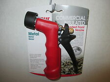 Gilmour 572TFR - Commercial Insulated Grip - Garden Water Hose Nozzle
