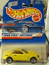 Hot Wheels Mercedes SLK 1998 First Editions Yellow