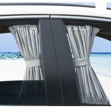 50X39cm Gray VIP CAR WINDOW CURTAIN SUNSHADE 2pcs Universal