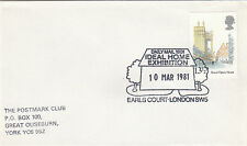 (34005) GB CLEARANCE Ideal Home Ausstellung Earls Court 10 Marchl 1981