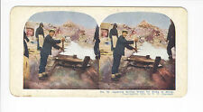 Ingersoll Stereoviews: Port Arthur #18, Japanese Boiling Water for Army to Drink