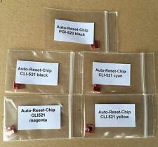 1 juego de auto Reset chips canon pgi520 cli521 mp620 mp630 mp640
