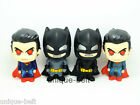 "Lot 4 pcs New Superhero Batman vs Superman PVC action figure Toy 10cm 4"" Gift"