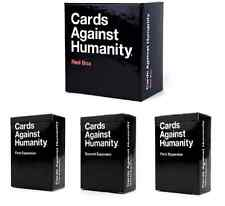 Cards Against Humanity Red Box Expansion Contains First Second Third Expansions