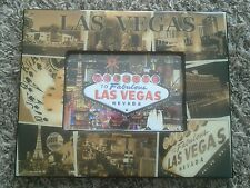 Las Vegas Souvenir Photo Frame -Sepia Colored-