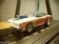 Sox & Martin Plymouth Duster Drag Car Custom HO Slot Car NOS AW 4 Gear