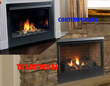 "Majestic 36"" Patriot 36CFDVN Direct Vent Gas Fireplace Traditonal/Modern NG/LP"