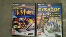 LEGO CREATOR HARRY POTTER / KNIGHTS KINGDOM !! PC GAME 2X