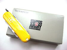 Victorinox Yellow Cavalier Swiss Army Knife - Discontinued Model - New Old Stock