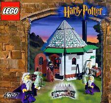 Lego Harry Potter 'cabaña de Hagrid' #4707 Hagrid Dumbledore Garantía 100% Completo
