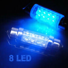 Car Auto Interior Dome 8 LED Bulb Light Festoon Bulb Bright Lamp Blue
