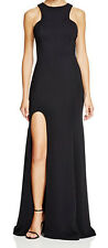 Nicole Bakti New Sleeveless Side Slit Gown Size 2 MSRP $425 #DN 172