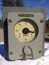 USN  Bureau of Ships BuShips Nautical Dummy Log Knots Speed Transmitter display