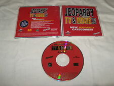 Jeopardy TV & Movie Pack (PC, 1996) Mint Game