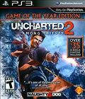NEW Uncharted 2: Among Thieves Game of the Year GotY Edition Black Label