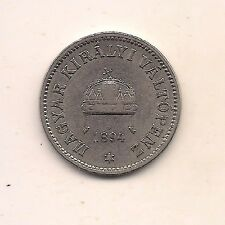 New listing 1894 Hungary Ten Filler-Very Strong Details!