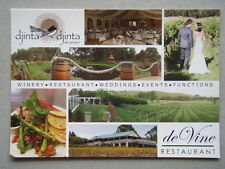 Djinta Djinta Winery de Vine Restaurant Kardella South Brochure Postcard