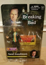 Mezco Breaking Bad Saul Goodman Green Shirt PX Preview exclusive figure. In hand