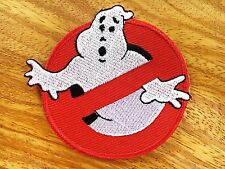 Ghostbusters Embroidered Iron Or Sew On Patch Badge Logo Fancy Dress.