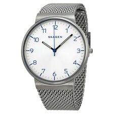 SKAGEN Men WATCH SKW6163 Ancher Easy To Read Dial Stainless STEEL MESH $165 SALE
