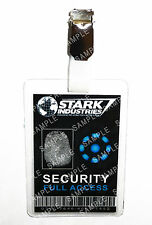 Iron Man Stark Industries Security ID Badge Cosplay Prop Costume Gift Christmas