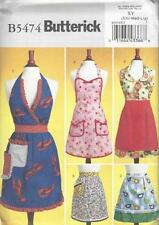 BUTTERICK SEWING PATTERN APRONS  B5474