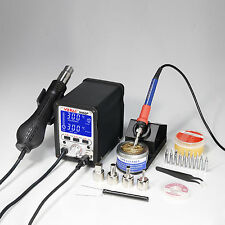 YH-995D+ 2 IN 1 HOT AIR REWORK SOLDERING IRON STATION - MULTIPLE FUNCTIONS UK