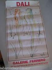 lithographie de Dali. Dali lithograph galerie ferrero
