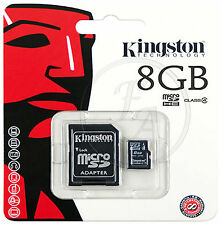 8 Gb Kingston Micro Sd Sdhc Tarjeta De Memoria Para Samsung Galaxy S4 Mini
