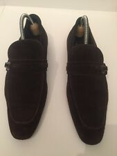 Zara mens brown Suede Shoes size 8 UK