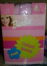 COLLANT BIMBA DI BARBIE - Calze Tights for Baby - 2002 Mattel - Figure Doll NEW