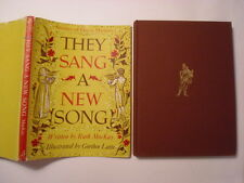 They Sang a New Song, Ruth MacKay, Gordon Laite art, DJ, 1959, A Edition