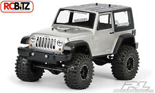 JEEP Wrangler Rubicon 2009 Cancella Corpo 3322 ASSIALE scx10 Dingo Decalcomania Finestra Maschere