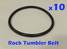 10 Replacement Drive Belts for Chicago Electric 3lb Drum Rock Tumblers #676