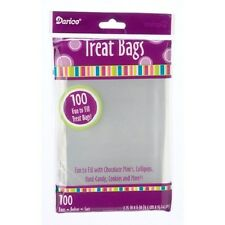 """100 pc Clear Treat,Cookie,Candy Bag 3.75x6"""" Party Favors, Baking supplies"""