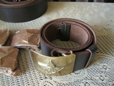 SALE !!! USSR a military belt - leather .PRICE for 1 piece...