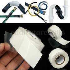 White 10FT Silicone Performance Repair Bonding Rescue Self Fusing Wire Hose Tape