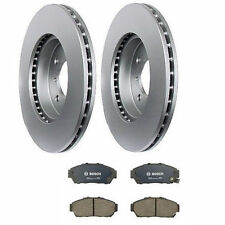 2-Pieces Meyle Anti Rust Coated Front Rotors & Bosch Ceramic Pads