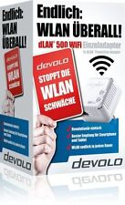 Devolo dLAN 500 WiFi Einzeladapter WLAN Powerline Adapter Neu