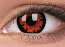 VOLTURI lentille de couleur rouge lens contact black halloween red vampire