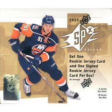 2009-10 UPPER DECK SPX HOCKEY FACTORY SEALED HOBBY BOX FACTORY SEALED NEW!