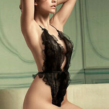 Black Sexy Lingerie Women Clothing Intimate Sleepwear Lace Robe Nightwear Sex